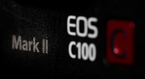 Build a Shoulder Rig for the Canon C100 Mark II: C100ii logo