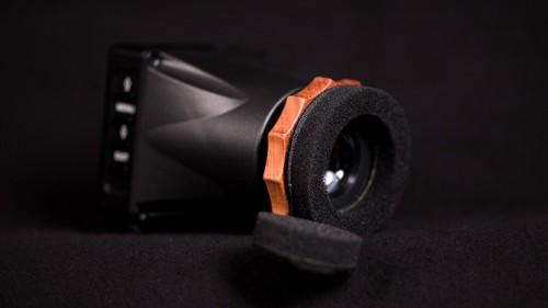 Build a Shoulder Rig for the Canon C100 Mark II: Portkeys LEYE EVF